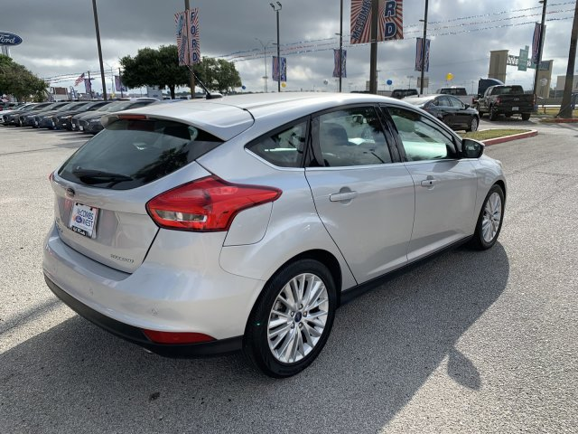 Certified Pre-Owned 2018 Ford Focus Titanium FWD Hatchback