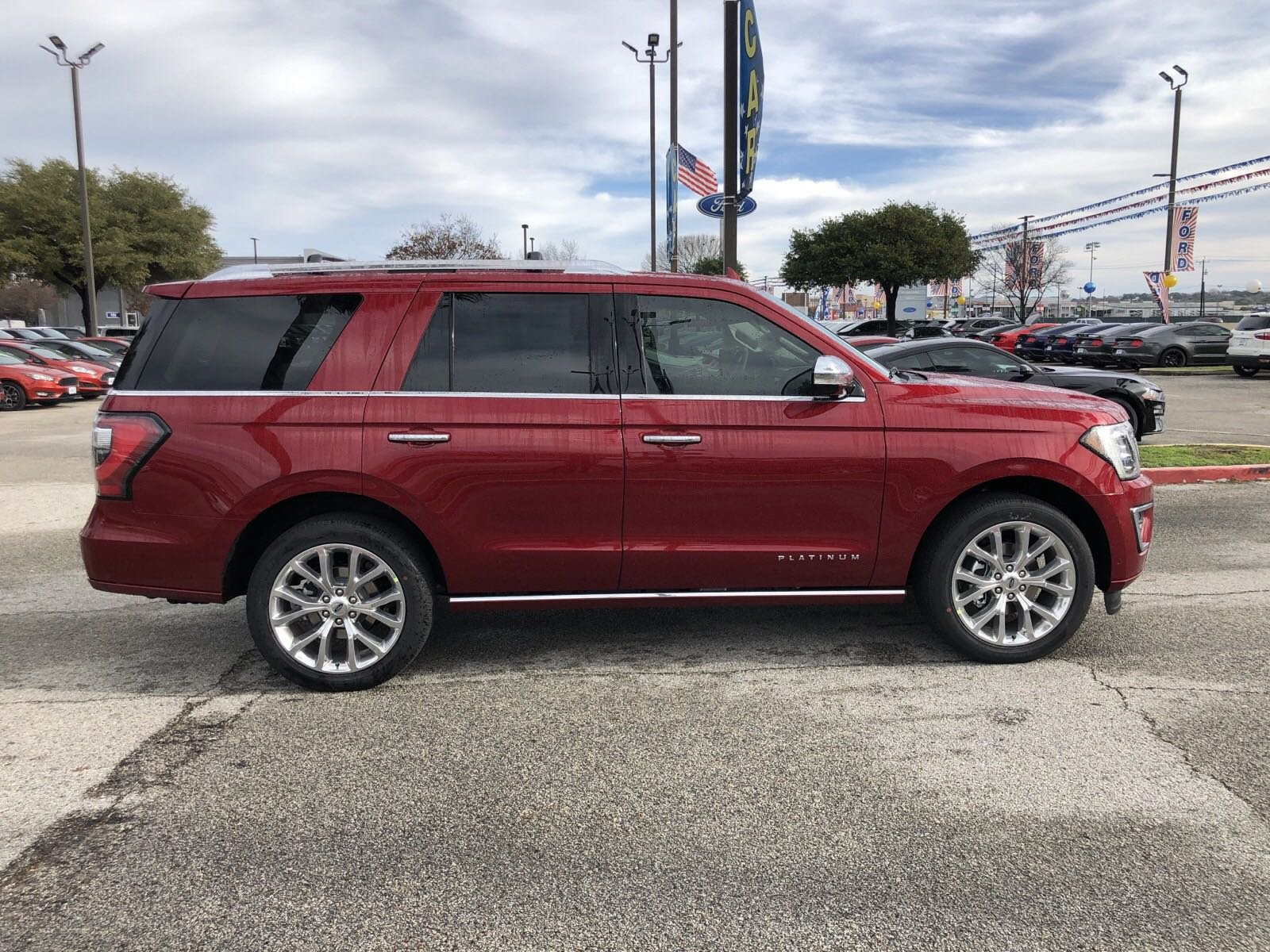 New 2019 Ford Expedition Platinum Sport Utility in San ...