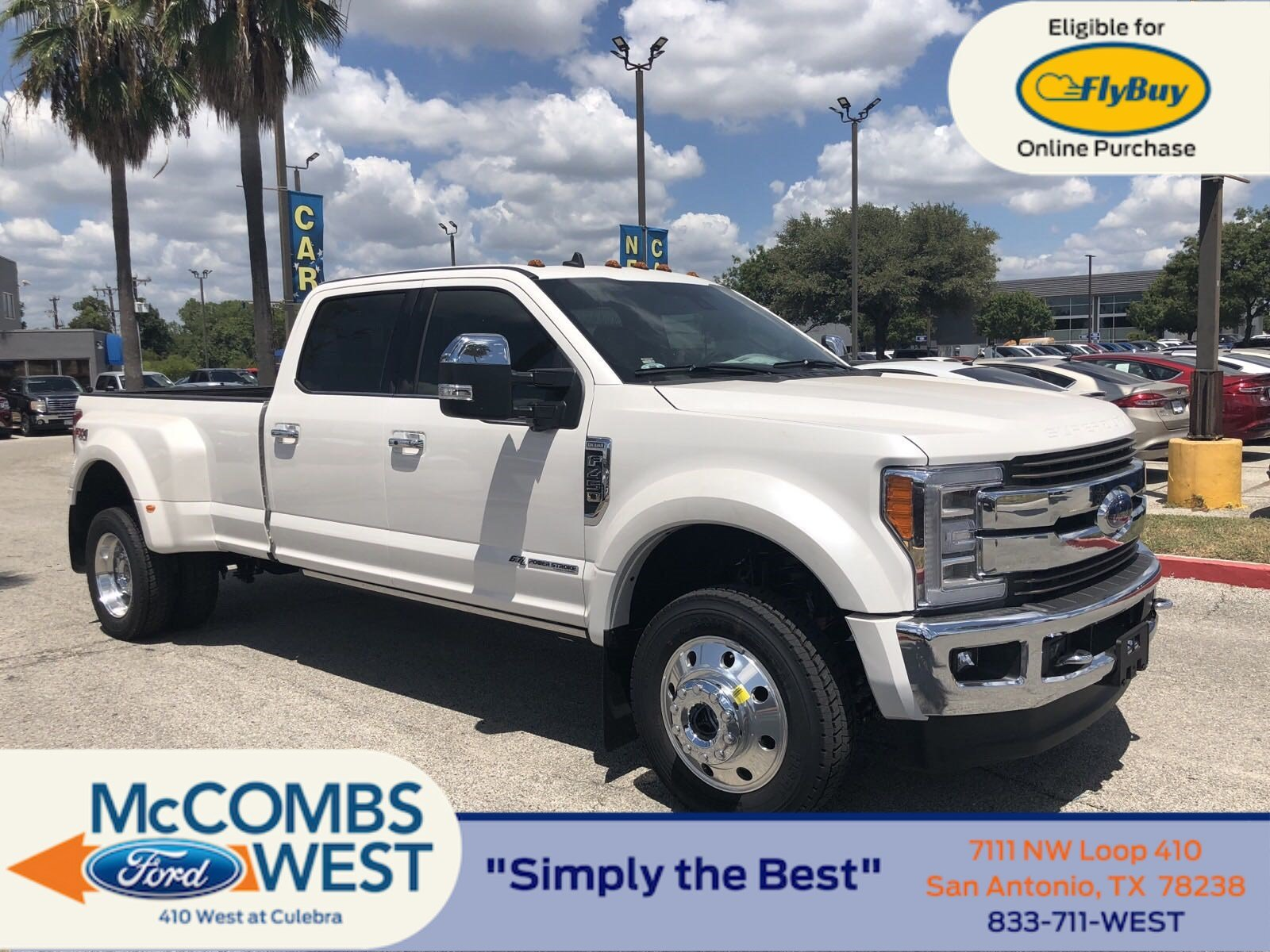 Ford Super Duty >> New 2019 Ford Super Duty F 450 Drw King Ranch Crew Cab Pickup In San