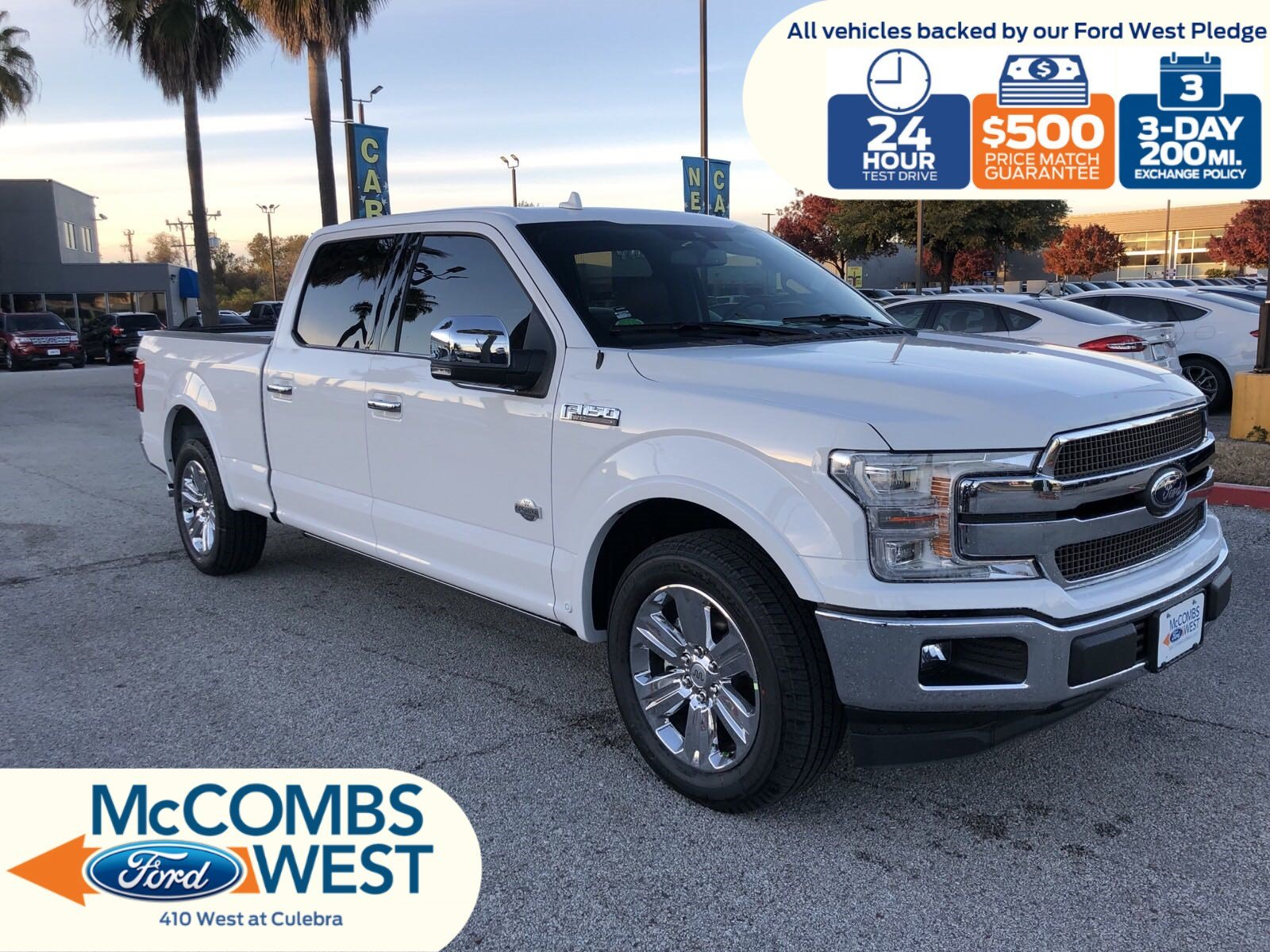 Red Mccombs Ford >> New 2019 Ford F-150 King Ranch Crew Cab Pickup in San ...