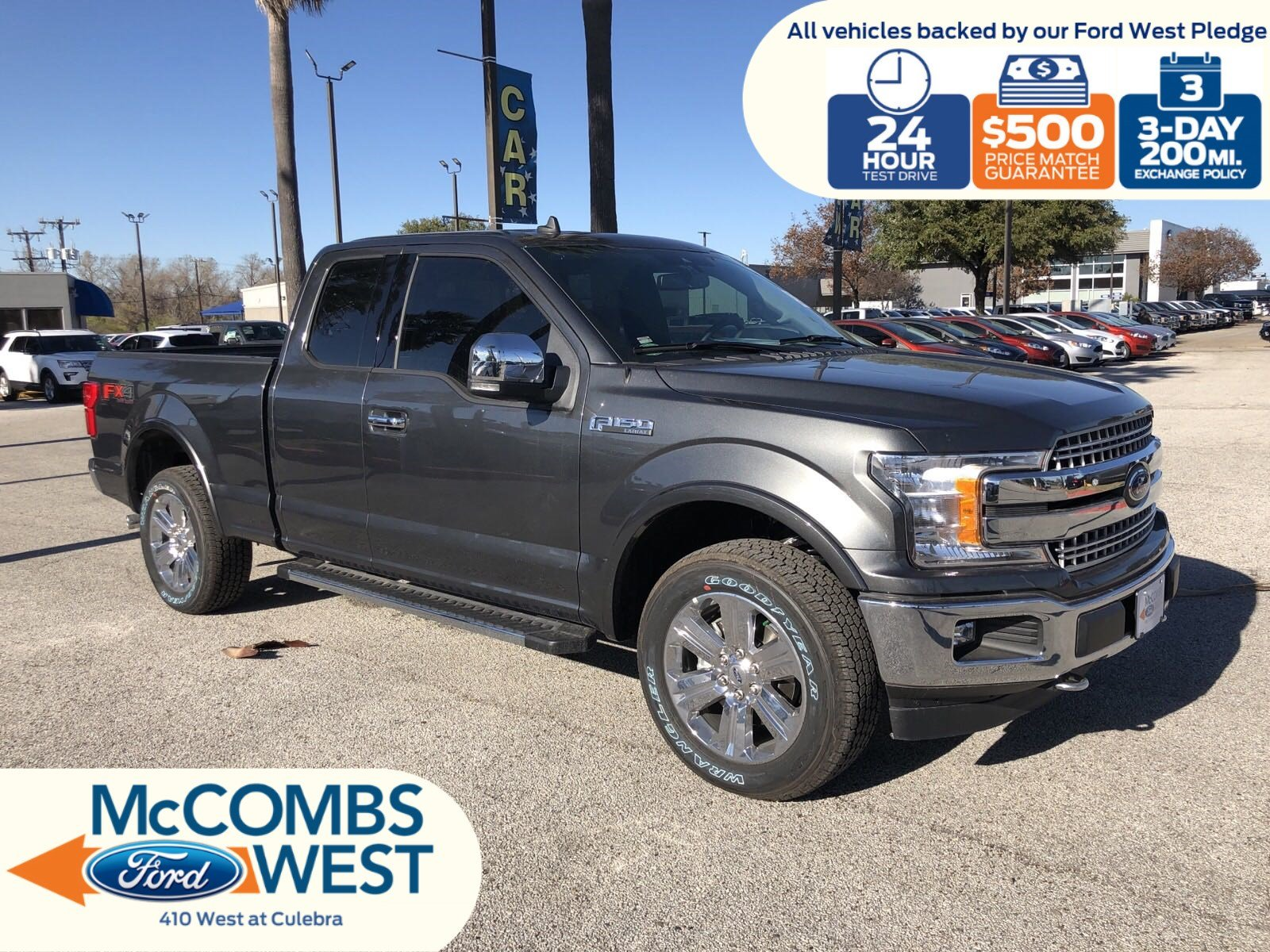 New 2019 Ford F 150 Lariat With Navigation 4wd