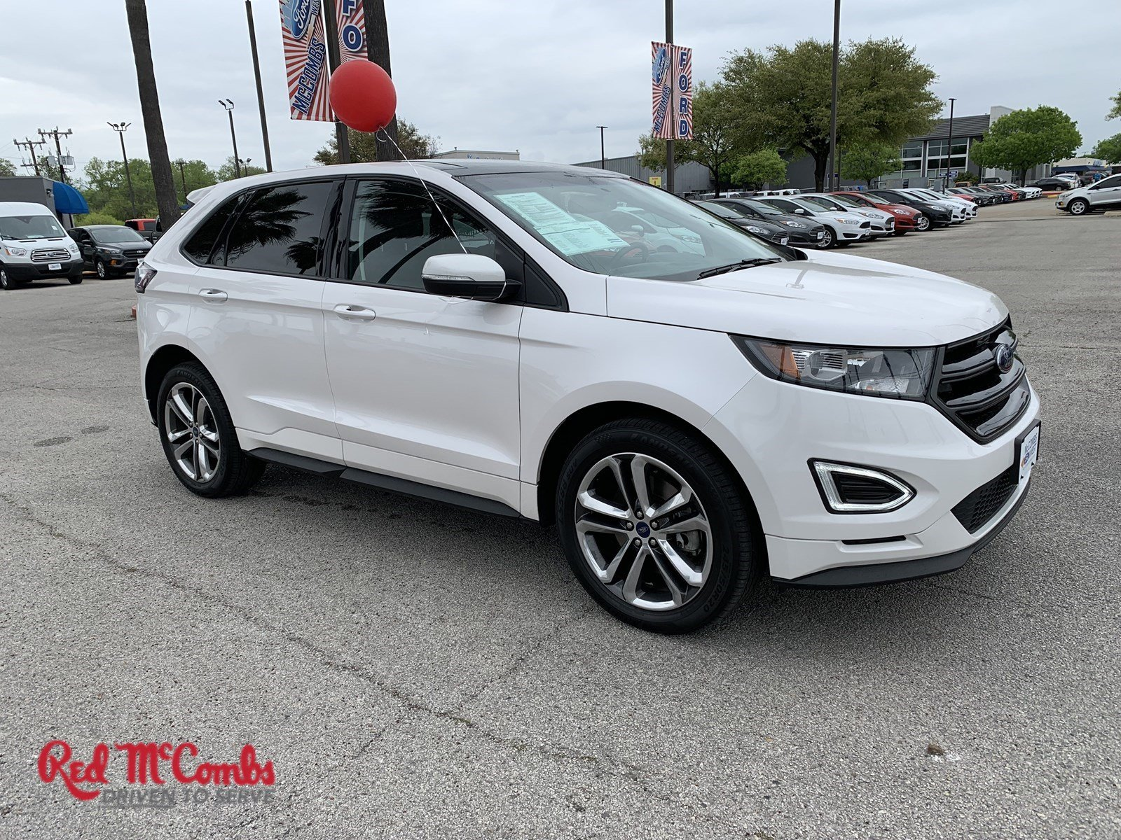 Certified Pre Owned 2017 Ford Edge Sport