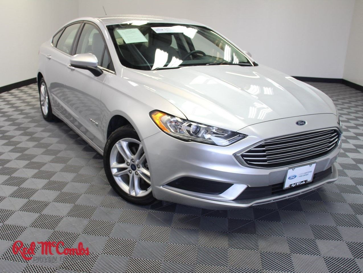 Certified Pre Owned 2018 Ford Fusion Hybrid Se