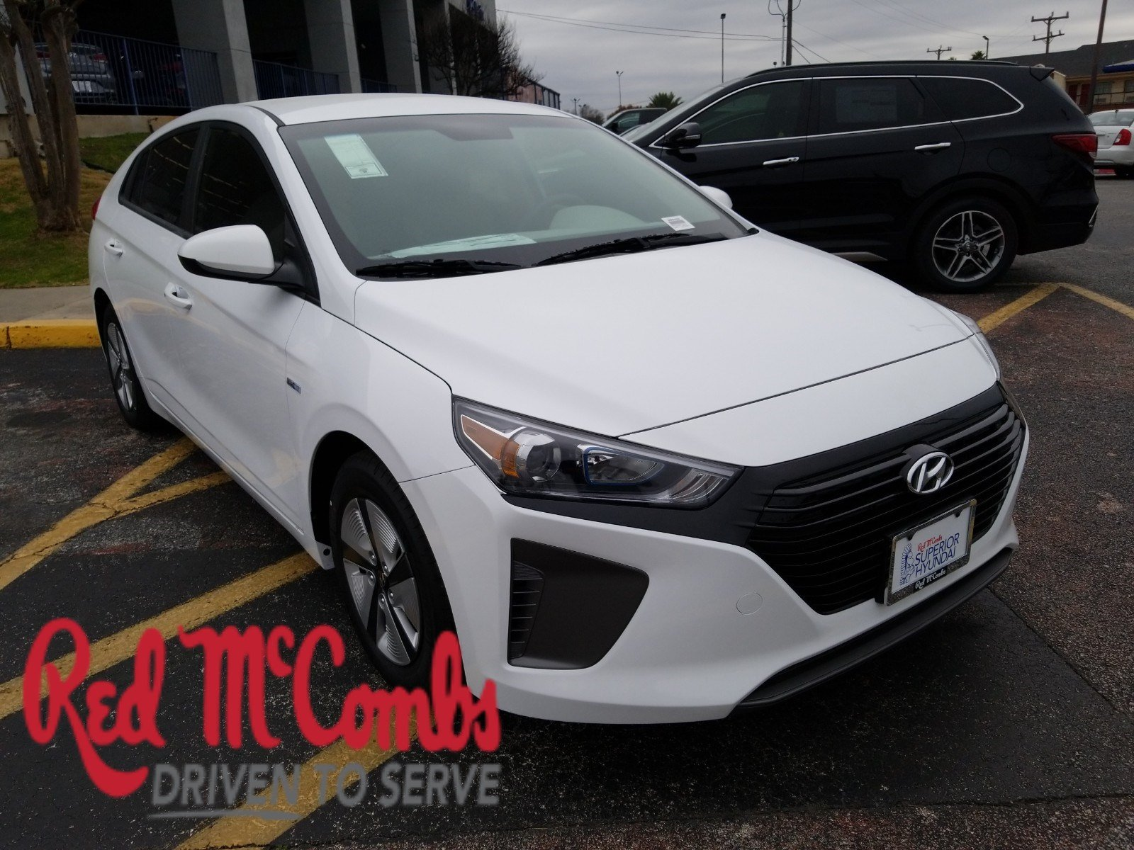 New 2019 Hyundai Ioniq Hybrid Blue Hatchback In San Antonio 960323